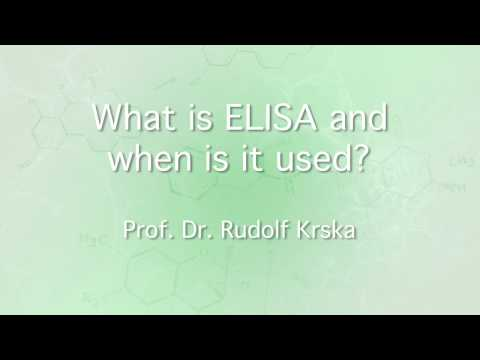 What is ELISA and when is it used?