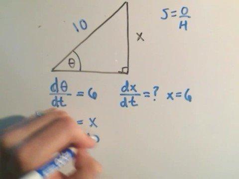 Related Rates #4 Involving Trigonometry
