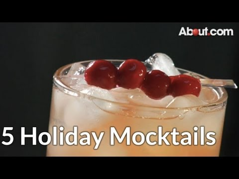 Top 5 Holiday Mocktails