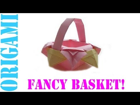 Origami Daily - 412: Fancy Basket - TCGames [HD]