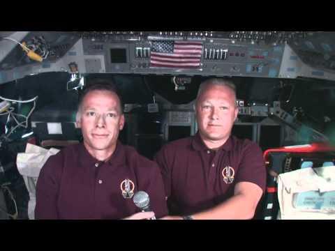Beyonce, Shifting Supplies Top Atlantis Astronauts' Flight Day 9