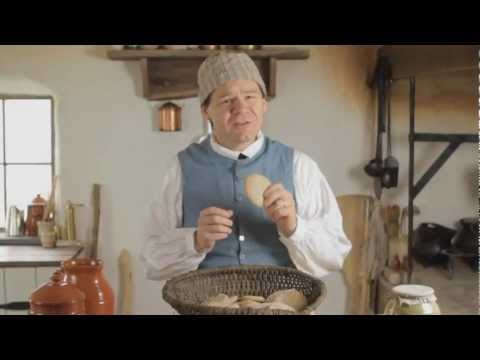 Ship's Bisket: 18th Century Breads, Part 1.  Cooking with Jas. Townsend and Son
