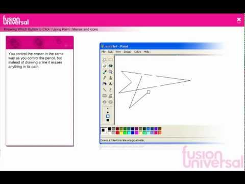 Learn how to use paint - the virtual school - IT for teachers in Africa