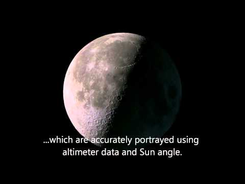 The Moon in 2012... hour by hour