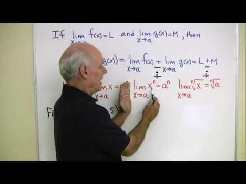 Calculus Help: Limits 2