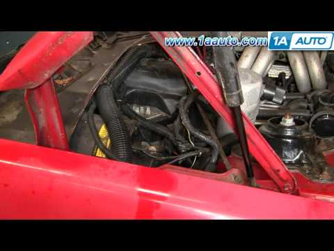 How To Install Replace A/C Heater Fan Speed Resistor Camaro IROC-Z Trans Am 82-92 1AAuto.com