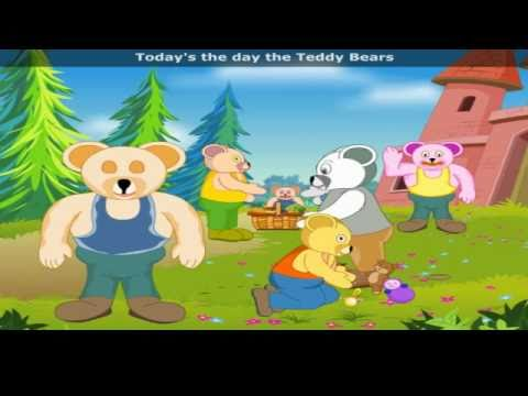 Teddy Bears Picnic with Lyrics - Nursery Rhyme