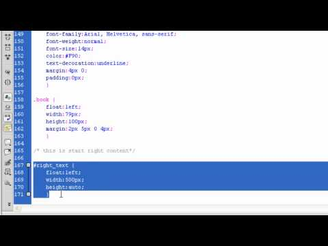 Lesson 19 - Beginners SEO Tutorial Course - Coding Template