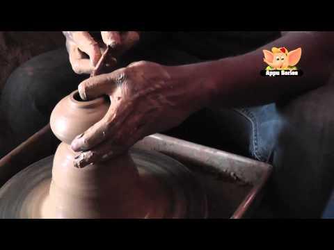 Arts & Crafts - Making Small Pots (Pottery)