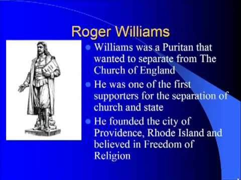 Schmidt Notes - US History - Unit 1 - The Puritans PPT