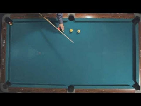 Pool Trick Shots / Fundamentals: Kicking 2-Rails