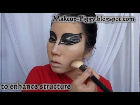 """Black Swan"" Movie Poster Makeup Re-creation Tutorial"