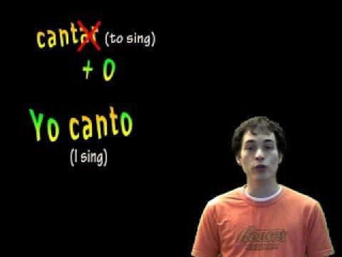 01019 Spanish Lesson - Present Tense - AR verbs: yo form
