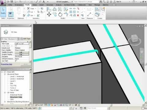 InfiniteSkills Tutorial | Revit Structure 2012 Training - Making New Types