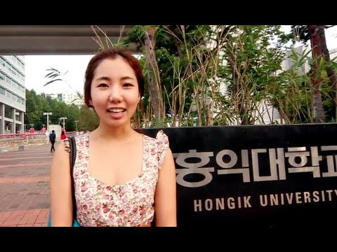 Walk With Me - HONG IK UNIVERSITY (Seoul, Korea)