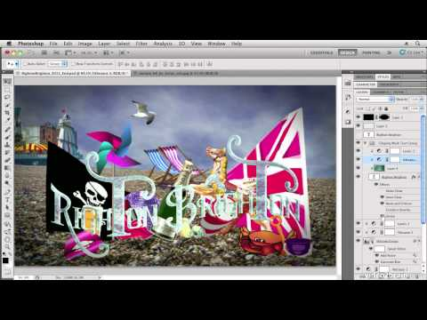 Using Clipping Masks in Photoshop