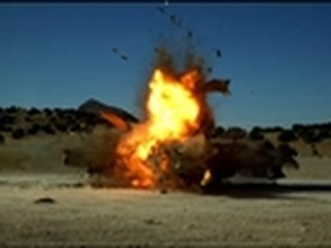 MythBusters - Red Bazooka | High-Speed Angle 2