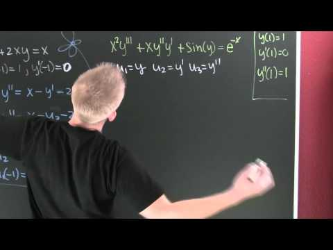 Writing a Differential Equation as a System.mov