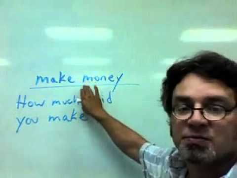 """other uses for the verb """"make"""""""