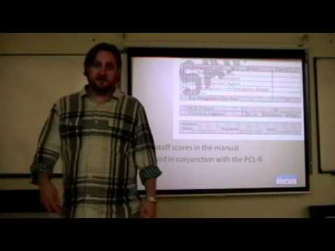 Eric Silk Dangerousness and Risk Assessment Lecture Part 1