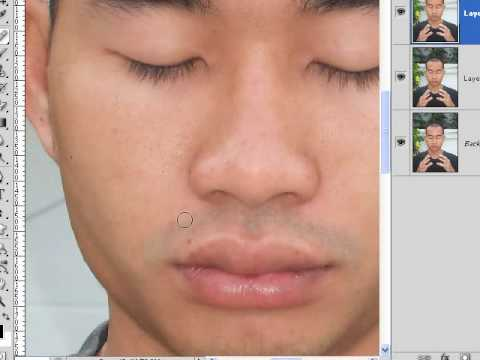 How To Remove Blemishes With Healing Brush Tool Photoshop Lesson 21