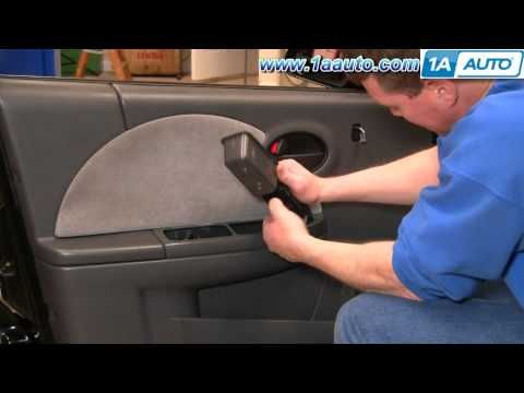 How To Install Replace Remove Front Door Panel Saturn Ion 03-07 1AAuto.com