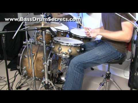 Jared Falk Heel-Toe Bass Drum Technique | Drum Beat Demos | Video #2 of 2 |