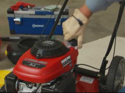 How to Maintain Your Lawn Mower and Change the Sparkplug
