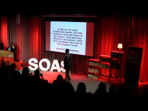 "TEDxSOAS - Oussama Mezoui - ""The Importance of Youth Activism and The Role of Islam"""
