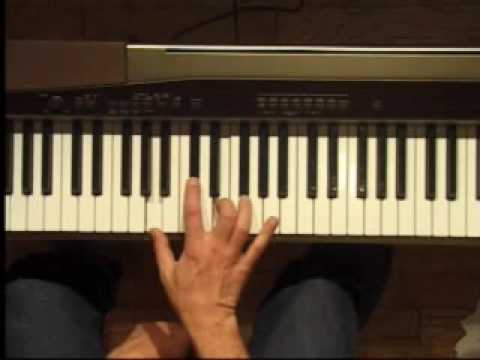 Piano Lesson - A Major Triad Inversions (Right Hand)