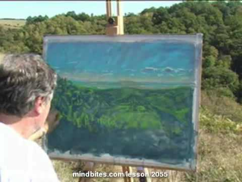A big demonstration using Pastel & Water - France