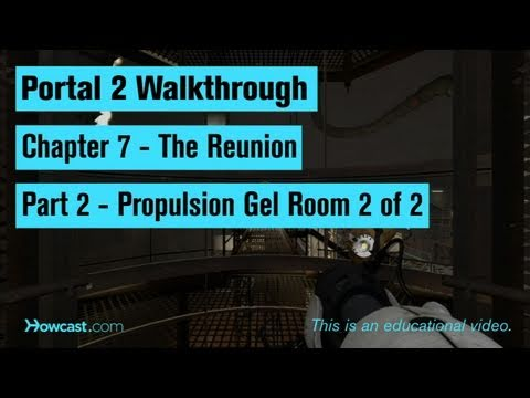 Portal 2 Walkthrough / Chapter 7 - Part 2: Propulsion Gel Room 2 of 2