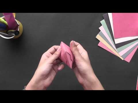 Origami - Learn to make a Cup (HD)