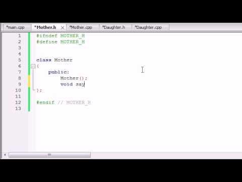 Buckys C++ Programming Tutorials - 52 - Inheritance