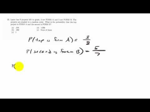 Math 101 Final Exam #25