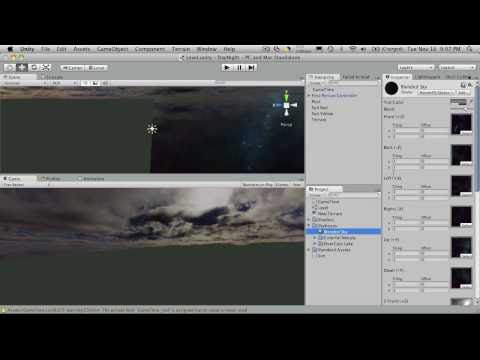 76. Unity3d Tutorial - Day Night Cycle Part 5