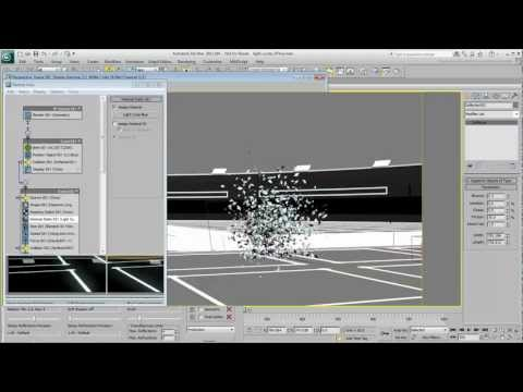 Creating Light Cycle Effects - Part 8 -- Particle Explosion (Cont'd)