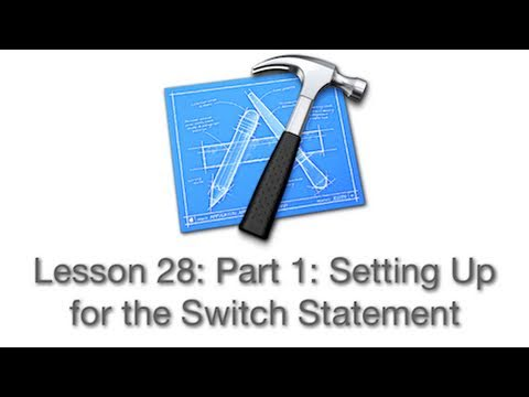 Objective-C Tutorial - Lesson 28: Part 1: Setting Up for the Switch Statement