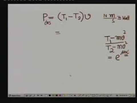 Lecture - 31 Belt Drives