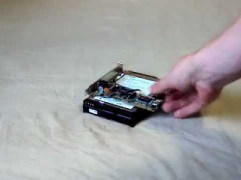 How to put LAN-card over hard drive - How To Do Anything TV video