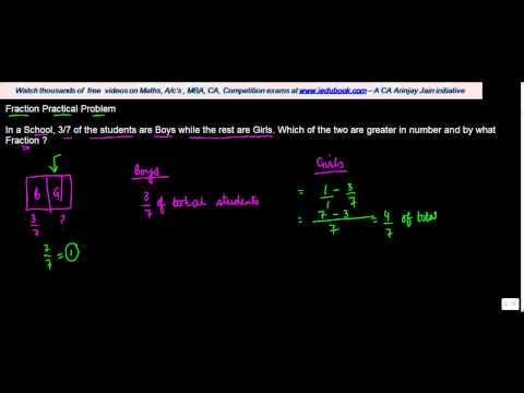 1040. CBSE Class VII Maths - Fraction Practical Problem