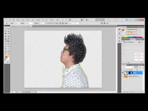 Photoshop Tutorial : How to use Puppet Warp in Adobe Photoshop CS5