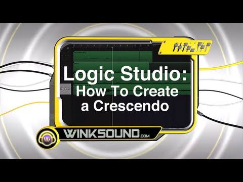 Logic Pro: How To Create a Crescendo | WinkSound