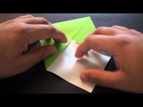 Origami Daily - 320: Easy Jumping Frog (Kids Origami) - TCGames [HD]