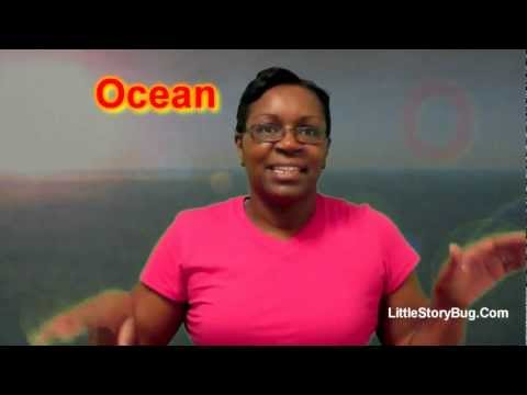 Preschool Activity - O is for Ocean - Littlestorybug