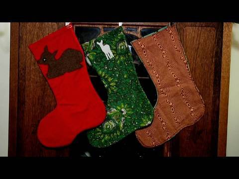 Make a Holiday Stocking, Meg's Gift Guide, Decor it Yourself
