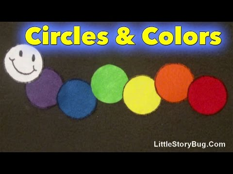 Preschool Songs - Circles and Colors - Littlestorybug