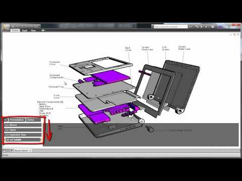 Autodesk Inventor Publisher: Changing Styles, Labeling Designs, and Exporting Animations