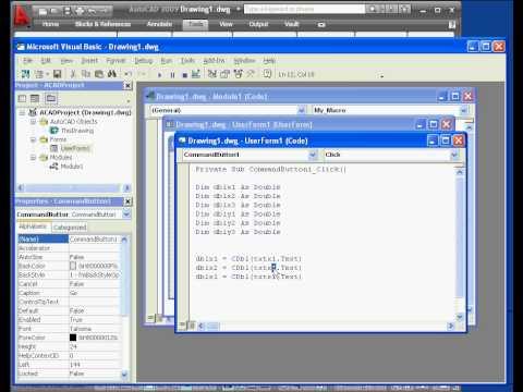AutoCAD  tutorial 2009 Macro