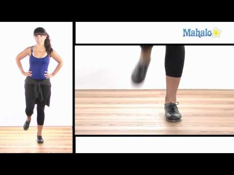 How to Do a Shuffle Hop Step in Tap Dance